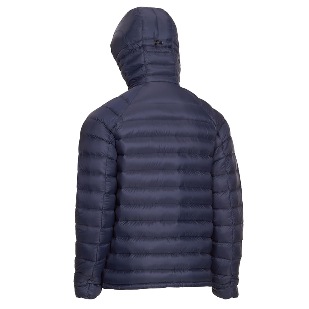 EMS Men's Feather Pack Hooded Jacket - NAVY BLAZER
