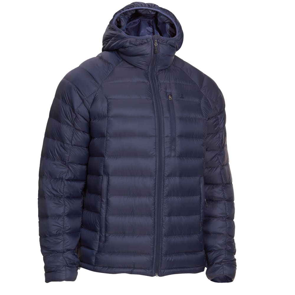 Ems(R) Men's Feather Pack Hooded Jacket - Blue, S