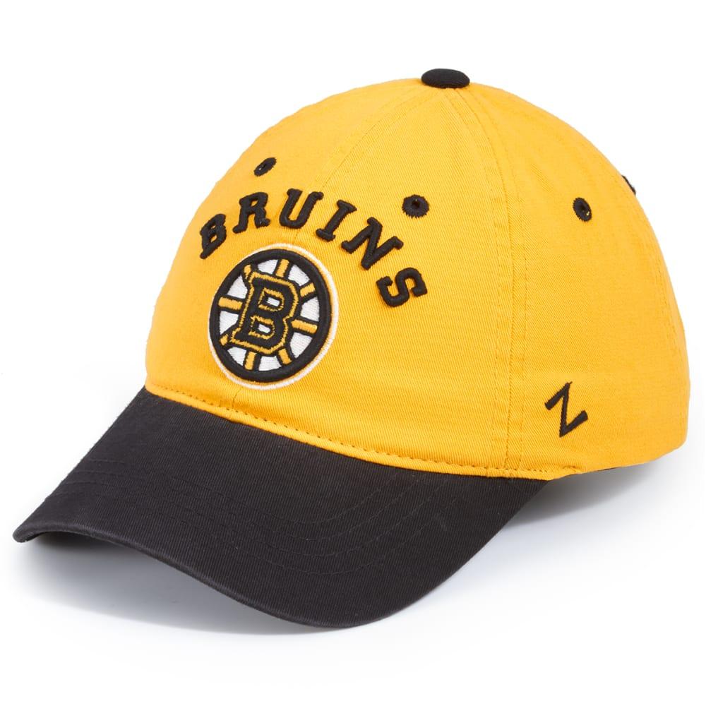 BOSTON BRUINS Men's Centerpiece Custom Bruins Circle 07 Hat - YELLOW