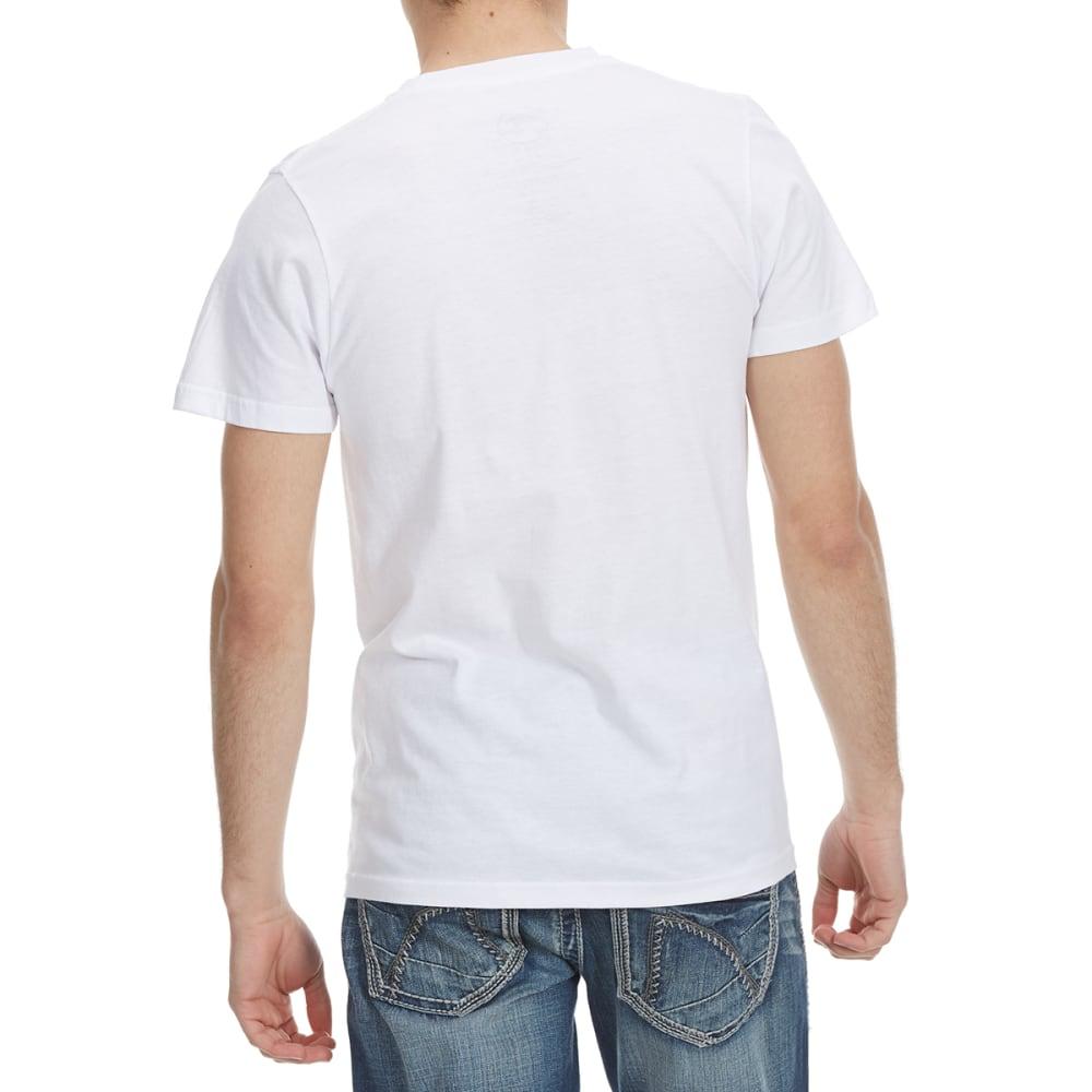 OCEAN CURRENT Guys' OC Top Half Short Sleeve Tee - WHITE
