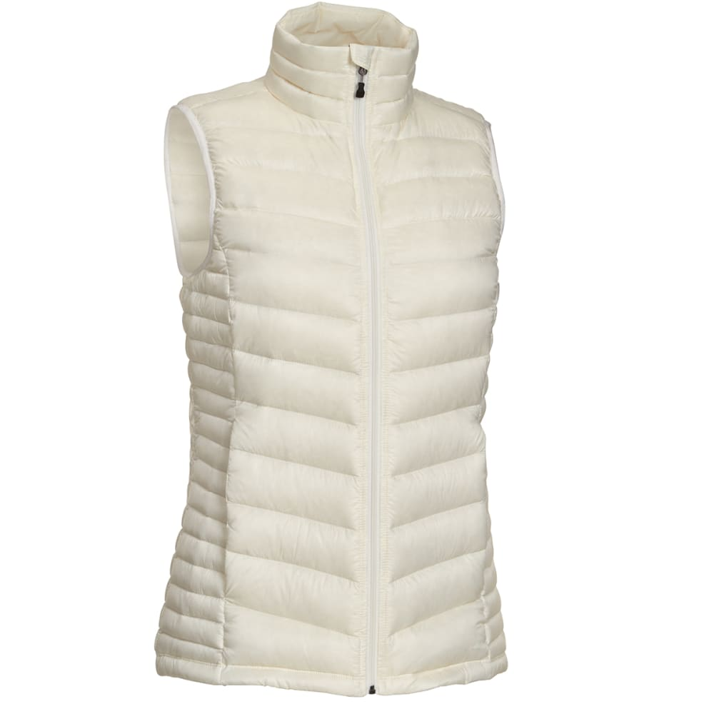 EMS Women's Feather Pack Down Vest - COCONUT MILK