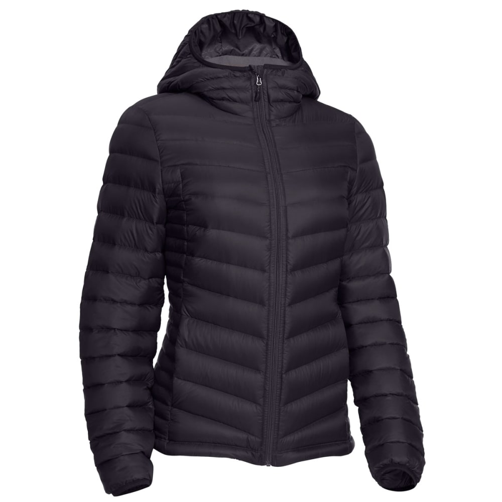 Ems Women's Feather Pack Hooded Jacket - Black, L