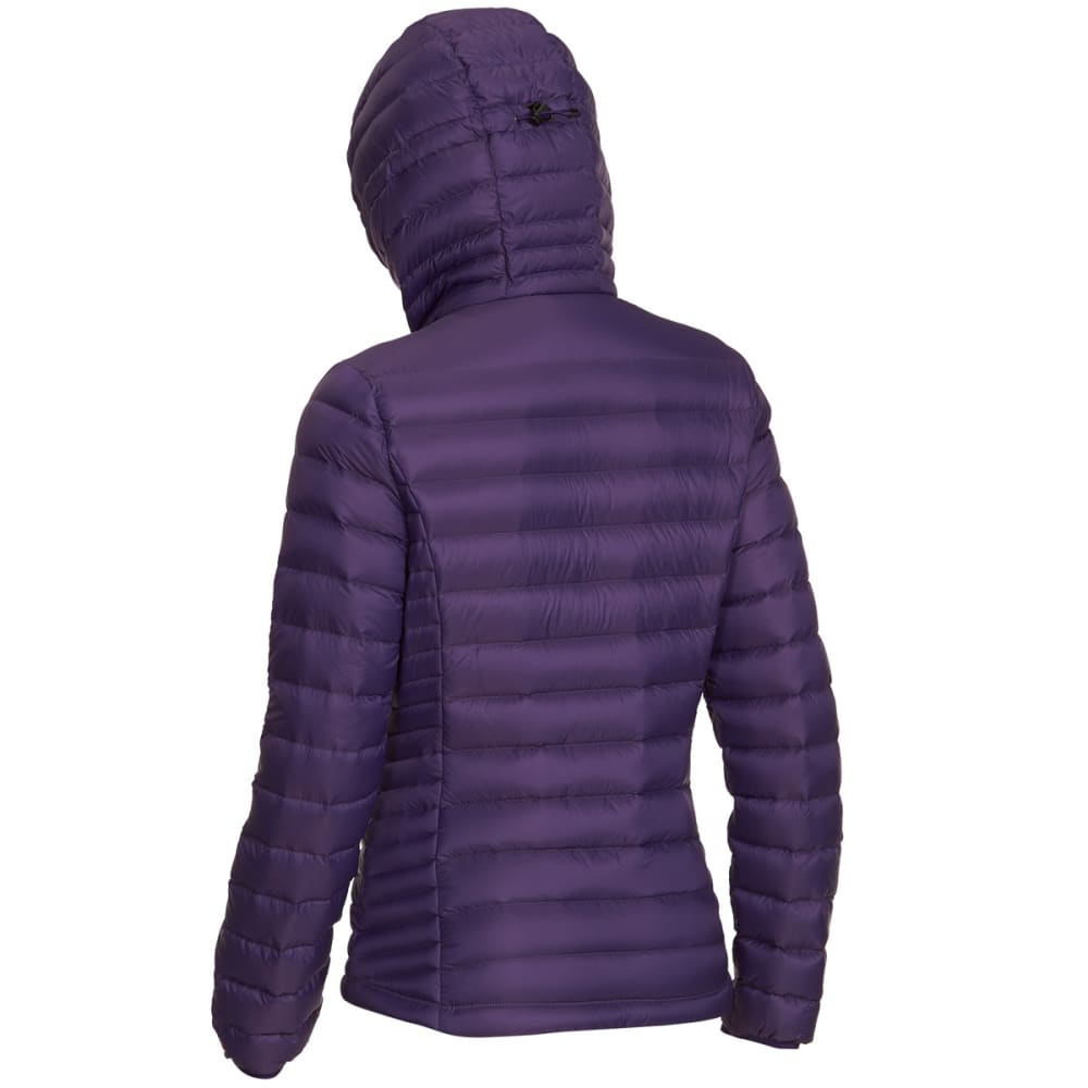 EMS Women's Feather Pack Hooded Jacket - PARACHUTE PURPLE