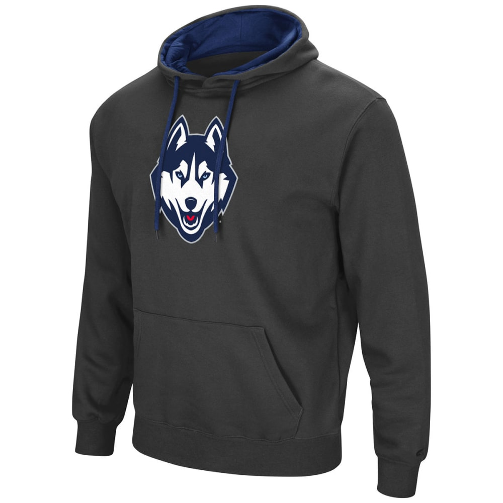 UCONN Men's Zone III Fleece Pullover Hoodie S