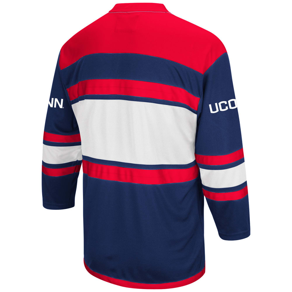 UCONN Men's Open Net II Hockey Sweater - NAVY/RED