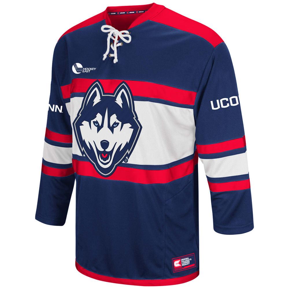 UCONN Men's Open Net II Hockey Sweater - NAVY/RED
