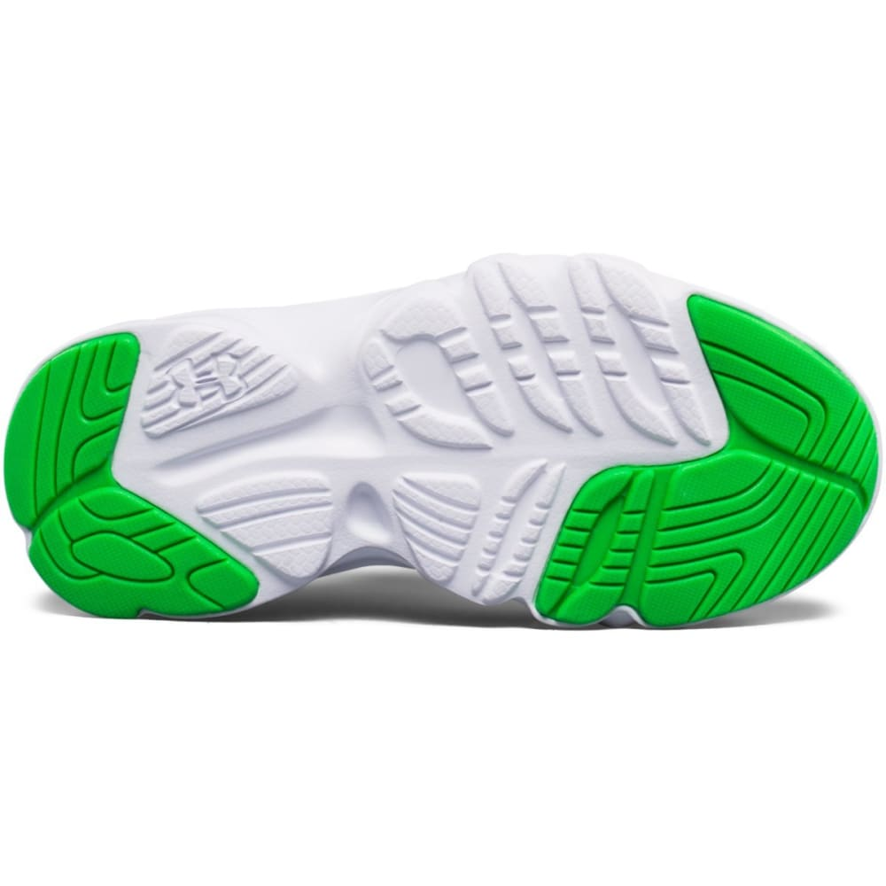 UNDER ARMOUR Boys' Pre-School Pace RN Running Shoes, Blue/White/Lime Twist - BLUE