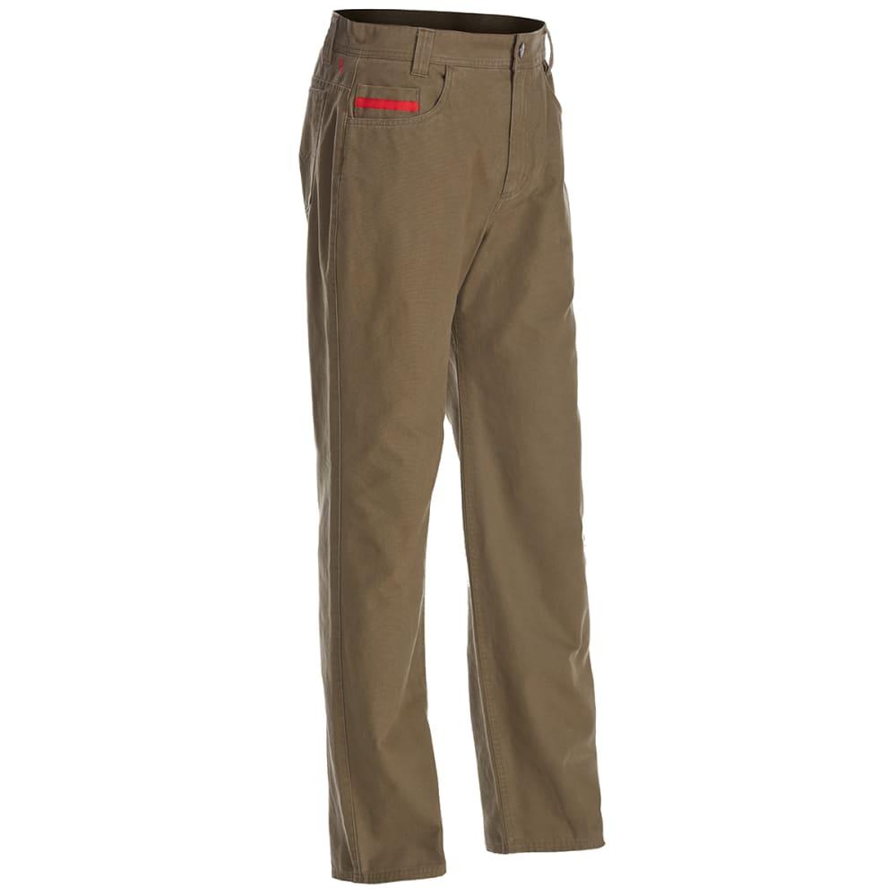Ems Men's Ranger Flannel-Lined Pants - Brown, 30/32