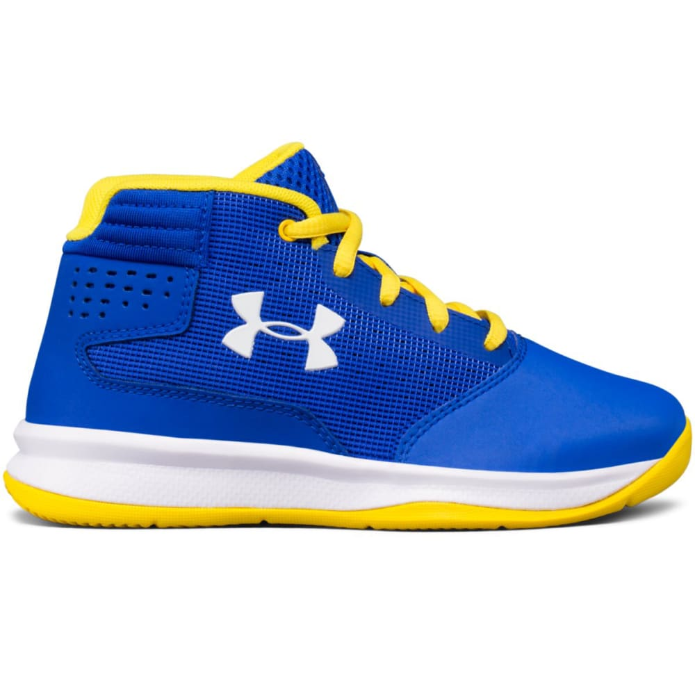 UNDER ARMOUR Boys' Pre-School UA Jet 2017 Basketball Shoes - ROYAL BLUE