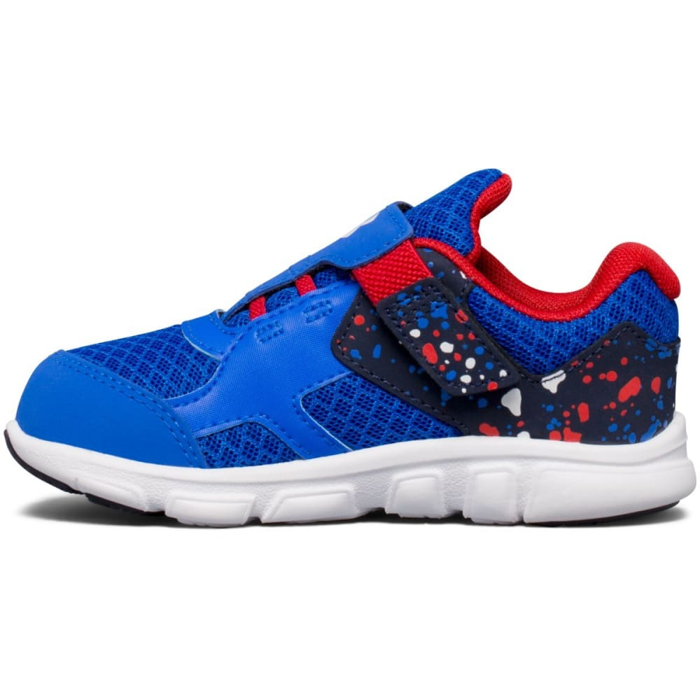 UNDER ARMOUR Boys' Toddler Thrill RN Sneakers, Ultra Blue/Red/White - ROYAL BLUE