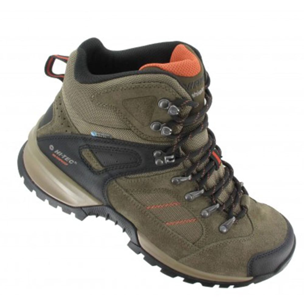 HI-TEC Men's Mount Diablo i WP Hiking Boots - BROWN/RED