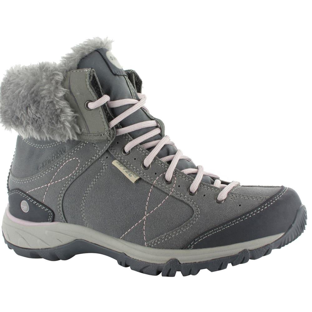 HI-TEC Women's Equilibrio Bellini Snug 200 i WP Boots - COOL GREY/VIOLET ICE