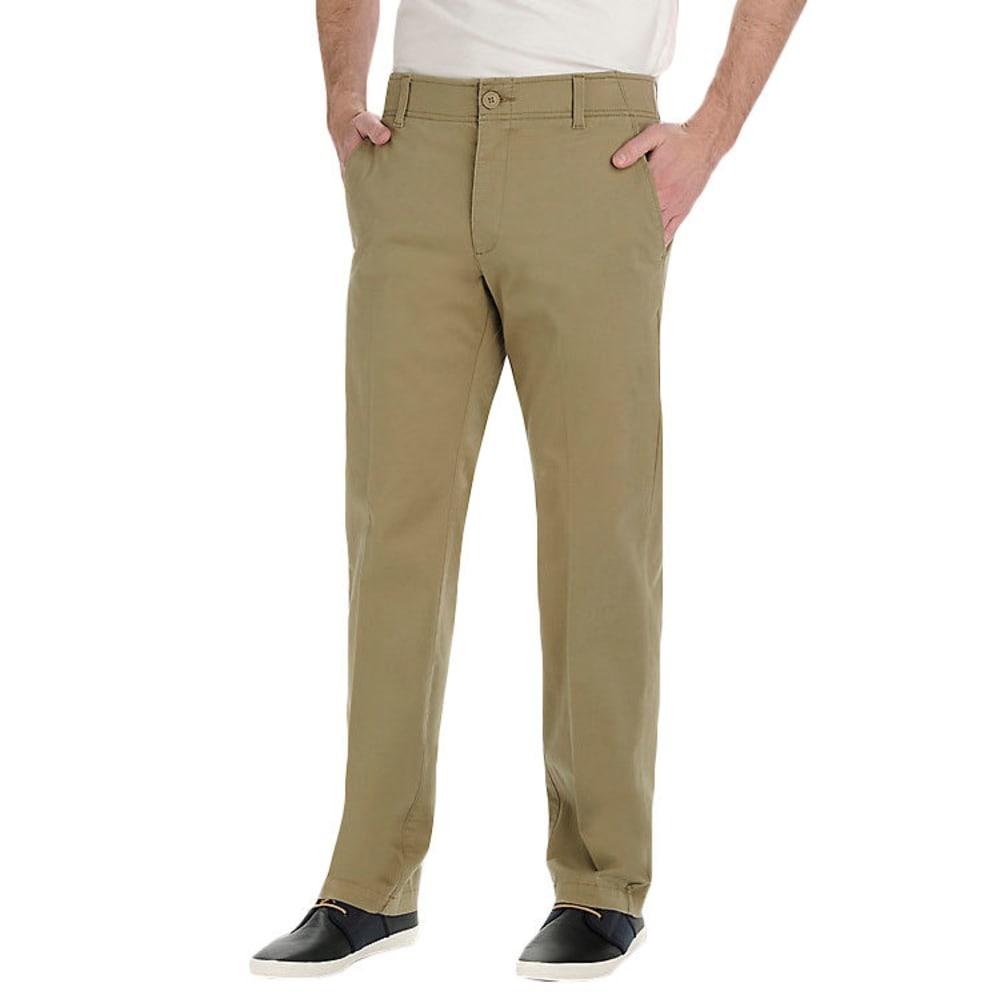 LEE Men's X-Treme Comfort Chino Pants - Brown, 34/29