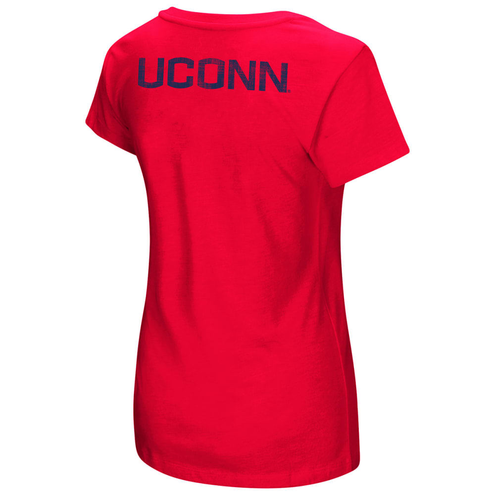 UCONN Women's Hurdle Short-Sleeve Tee - RED