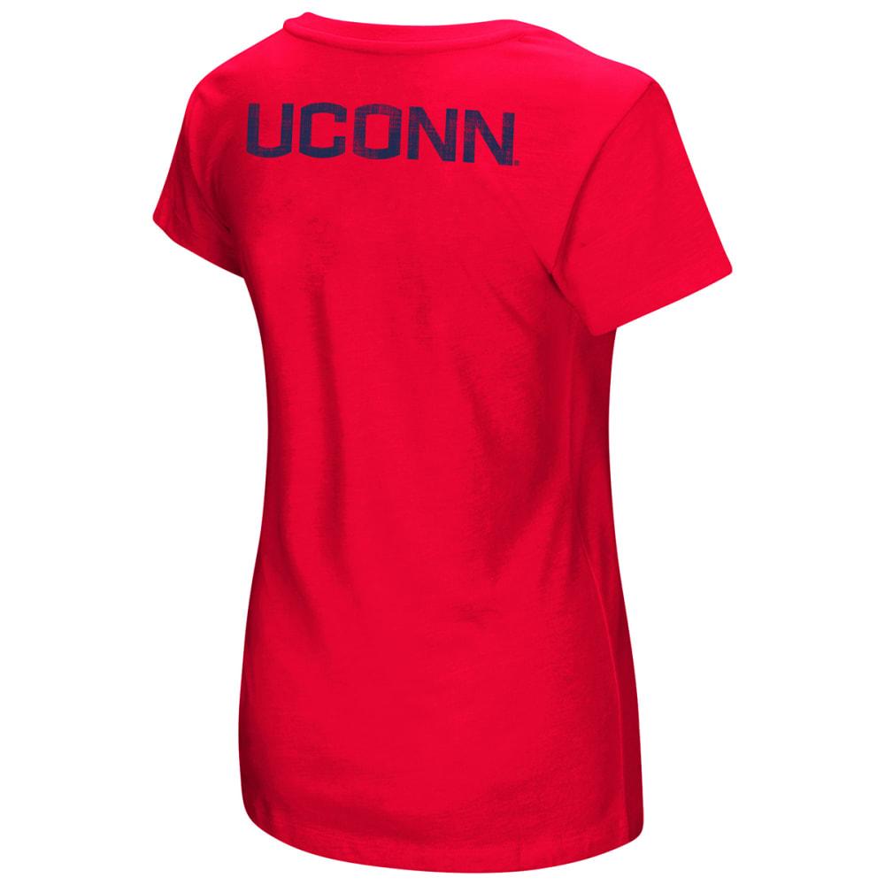 UCONN Women's Hurdle Short-Sleeve Tee - RED