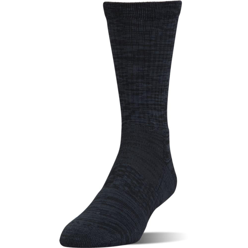 UNDER ARMOUR Men's UA Phenom Twisted Crew Socks, 3 Pack - BLACK ASST-960