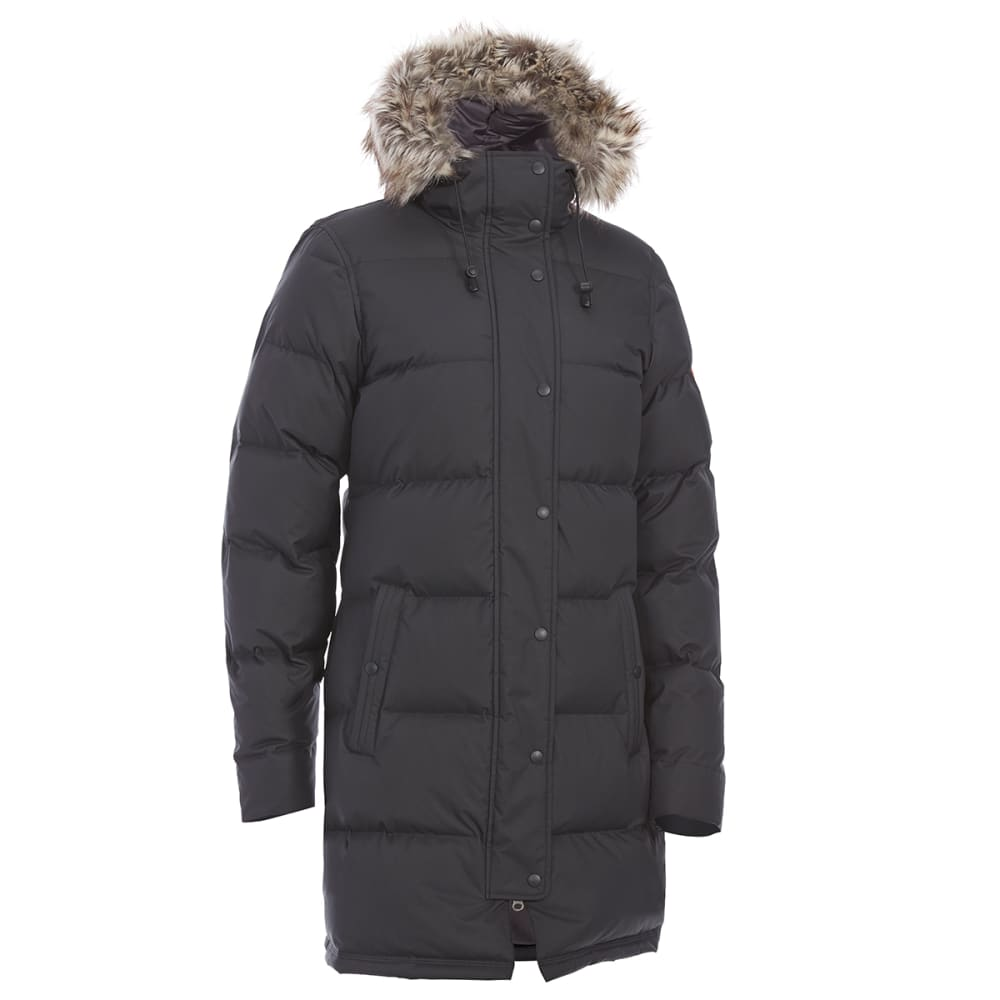 Ems(R) Women's Klatawa Long Down Jacket - Black, S
