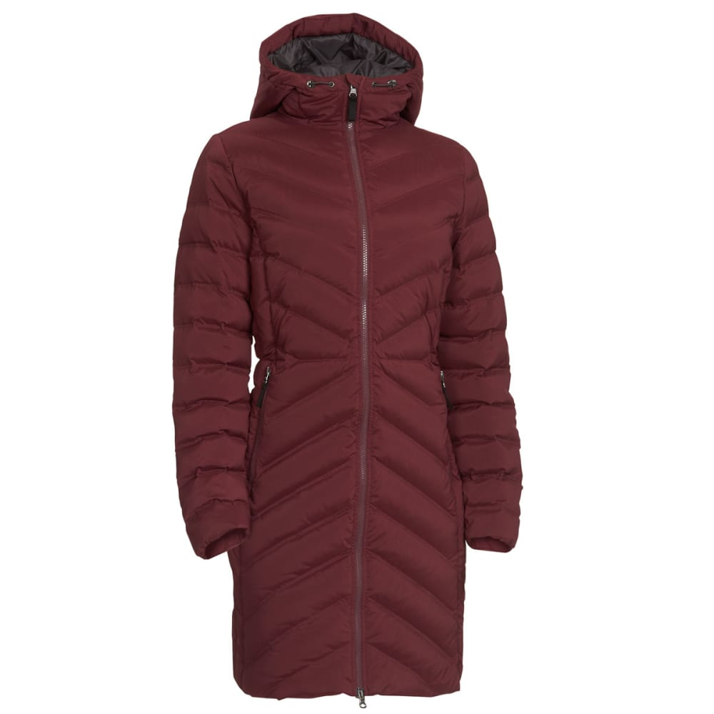 0562336a435 EMS Women's Cascade Stretch Down Jacket - PORT ROYALE