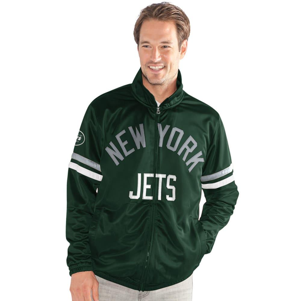 NEW YORK JETS Men's Veteran Track Jacket - GREEN