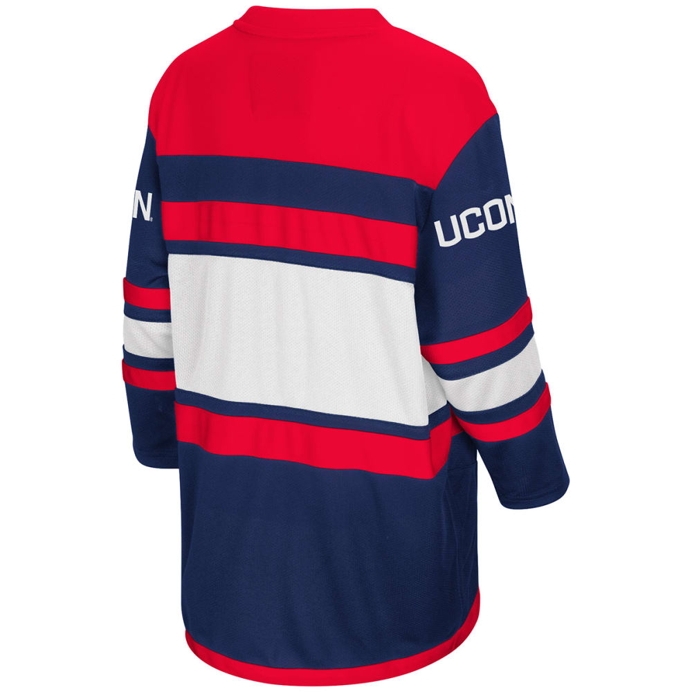 UCONN Big Boys' Open Net II Hockey Sweater Jersey - NAVY
