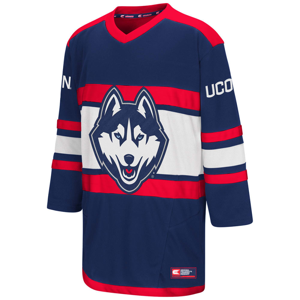 Uconn Big Boys Open Net Ii Hockey Sweater Jersey - Blue, M