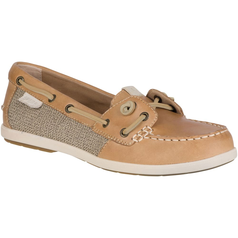 SPERRY Women's Coil Ivy Boat Shoes, Linen 6