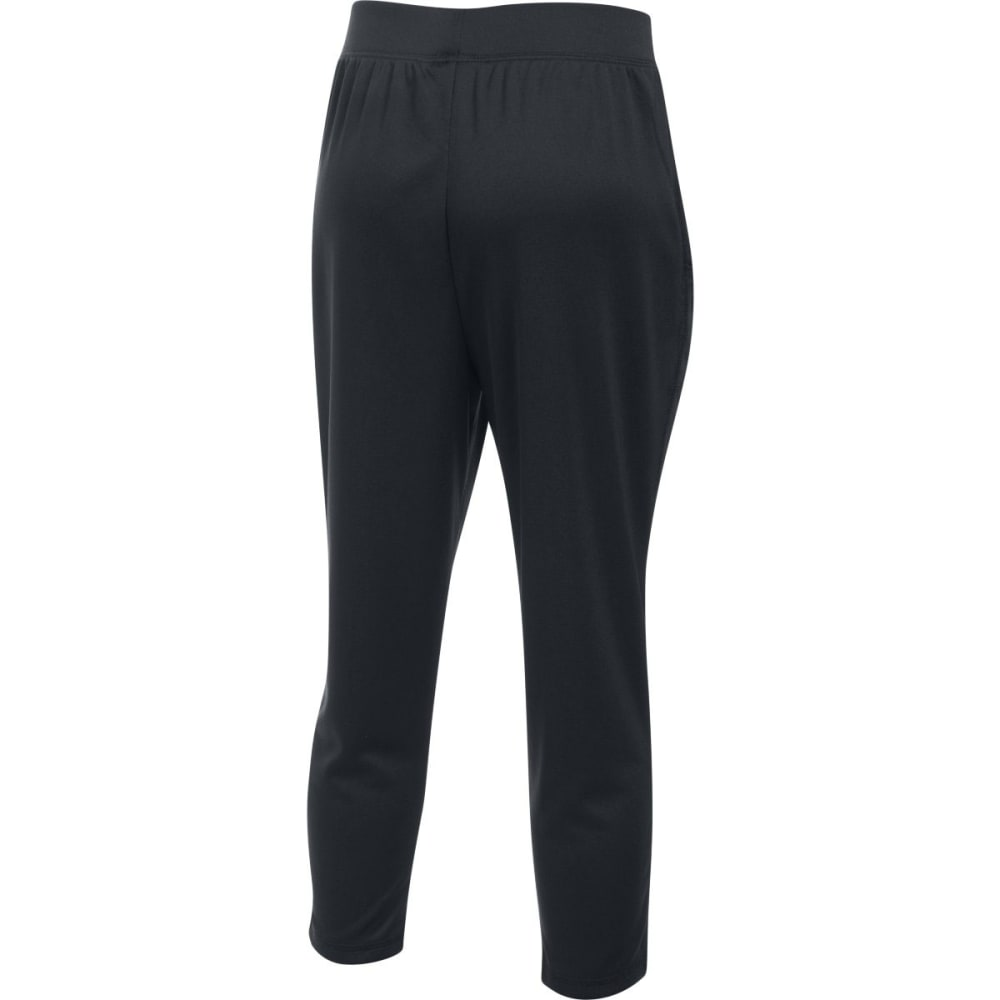 UNDER ARMOUR Girls' UA Tech™ Capri Pants - 001-BLACK/BLK/WHITE