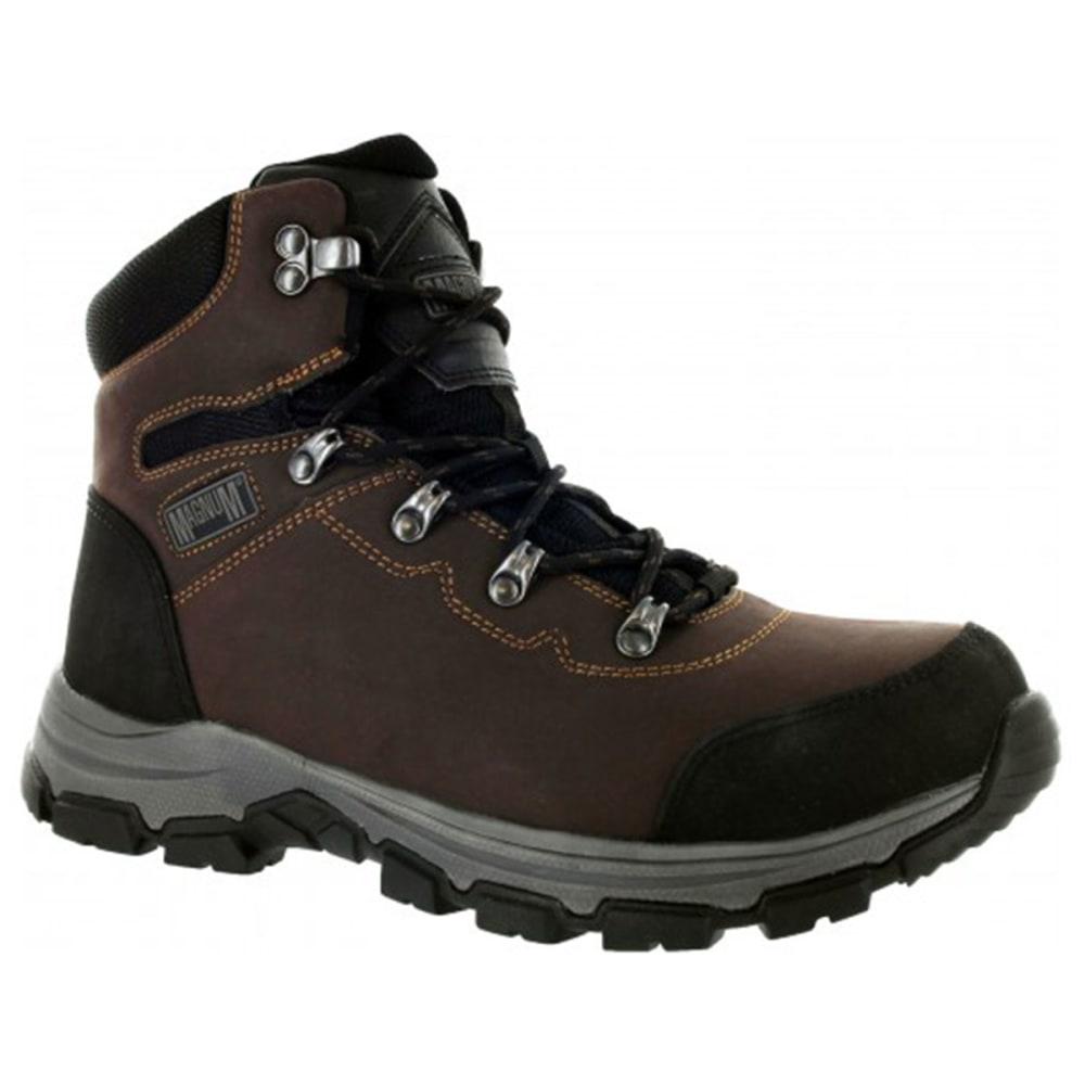 MAGNUM Men's Austin Mid Waterproof Steel Toe Boots - COFFEE