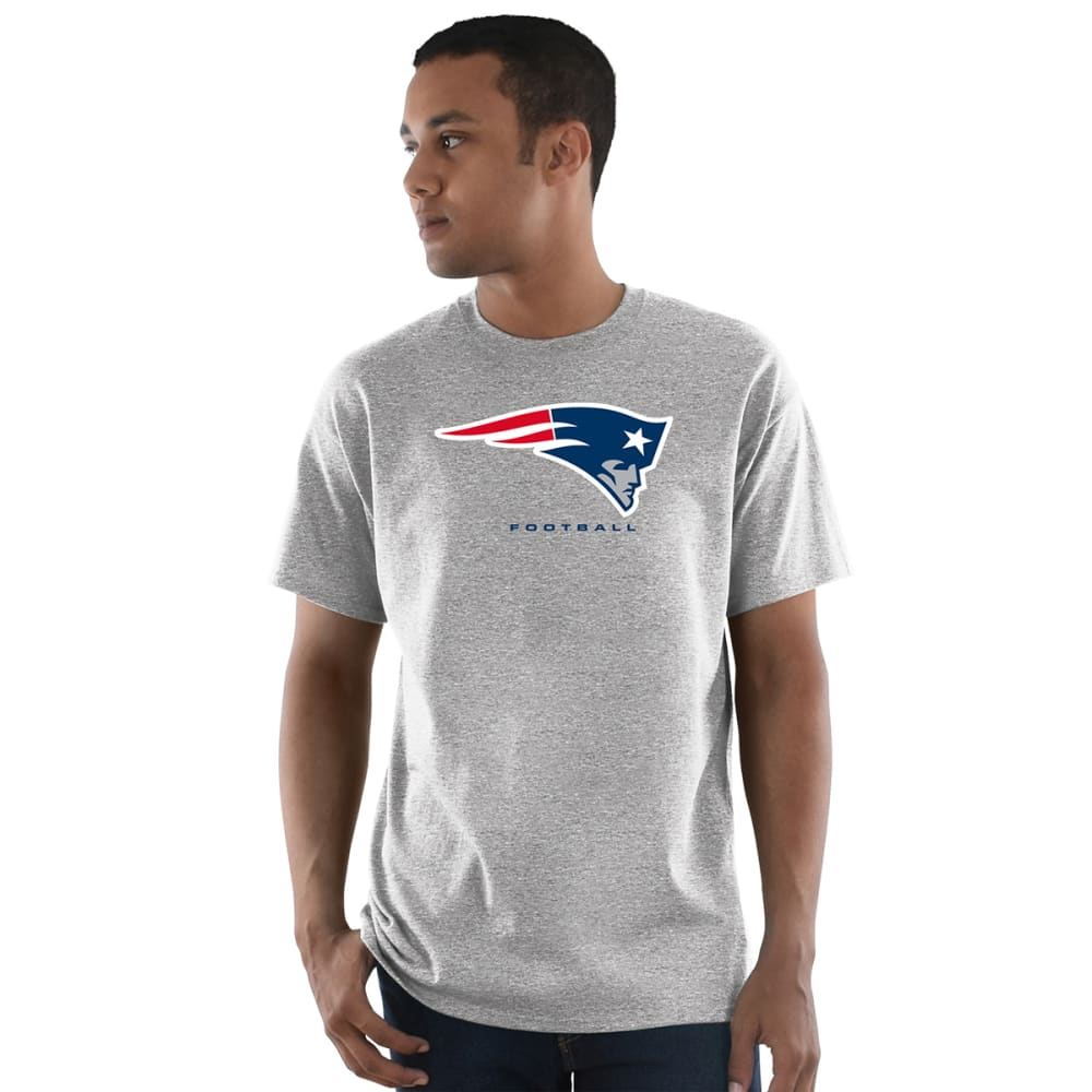 NEW ENGLAND PATRIOTS Men's Critical Victory III Short-Sleeve Tee - CHARCOAL