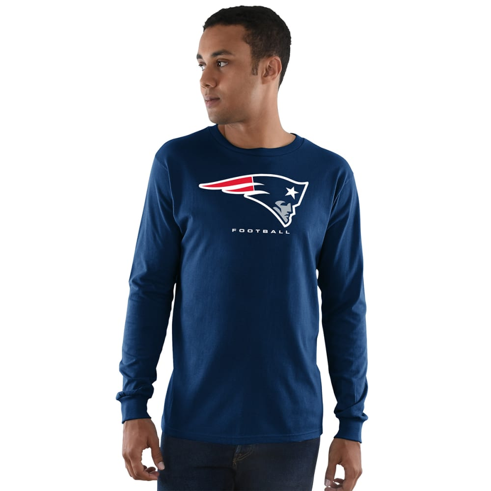 NEW ENGLAND PATRIOTS Men's Critical Victory III Long-Sleeve Tee - NAVY