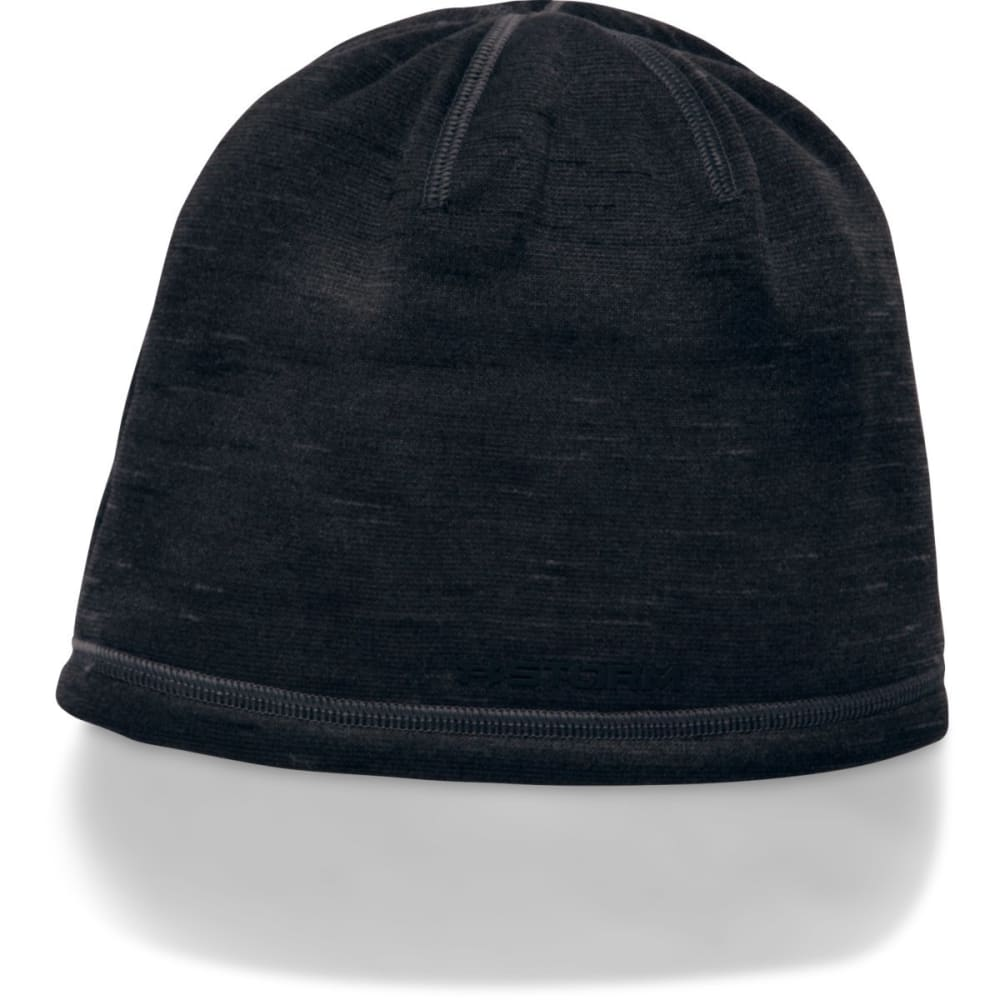 UNDER ARMOUR Big Boys' ColdGear Reactor Beanie - 001-BLACK/GRAPHITE