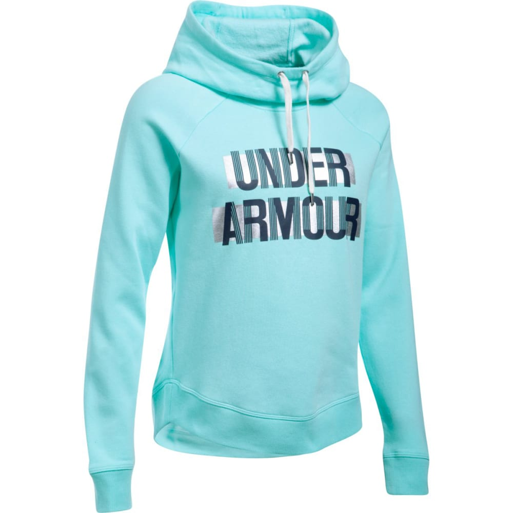 UNDER ARMOUR Women's UA Fashion Favorite Word Graphic Pullover Hoodie S