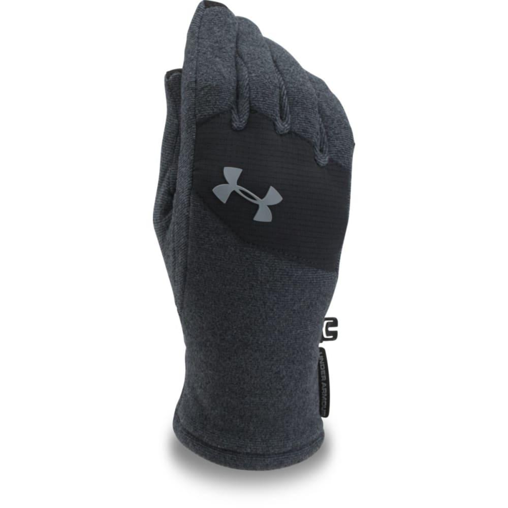 UNDER ARMOUR Big Boys' ColdGear® Infrared Fleece Gloves - 001-BLACK