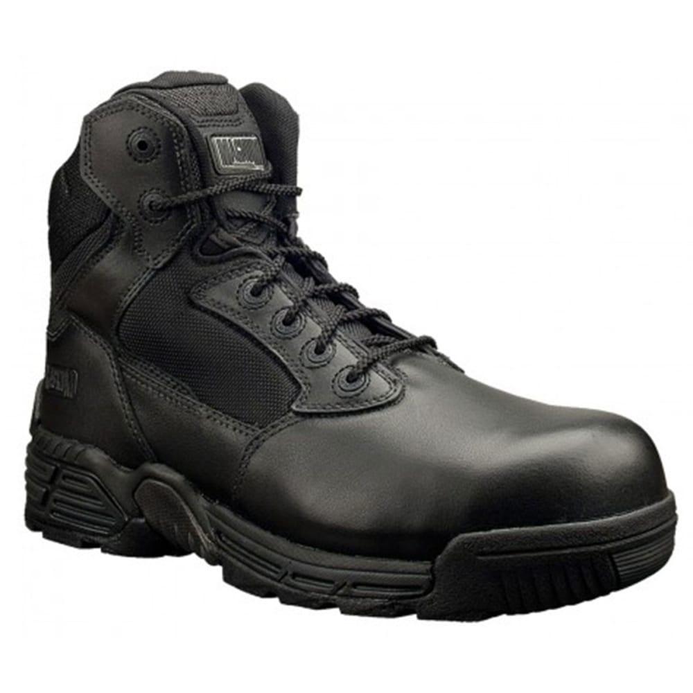 MAGNUM Men's Stealth Force 6.0 Side Zip Composite Toe Boots - BLACK