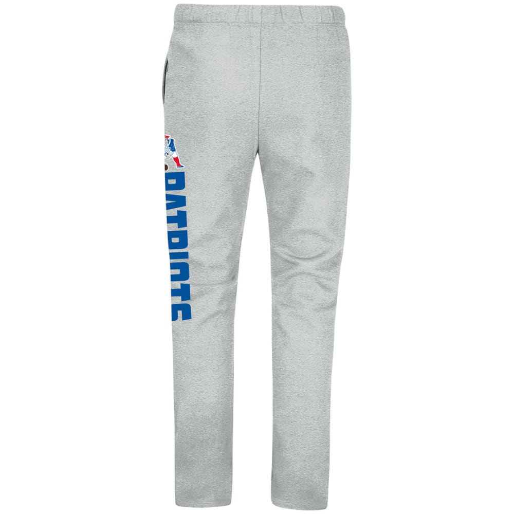 NEW ENGLAND PATRIOTS Men's Critical Victory Fleece Pants - STEEL HEATHER