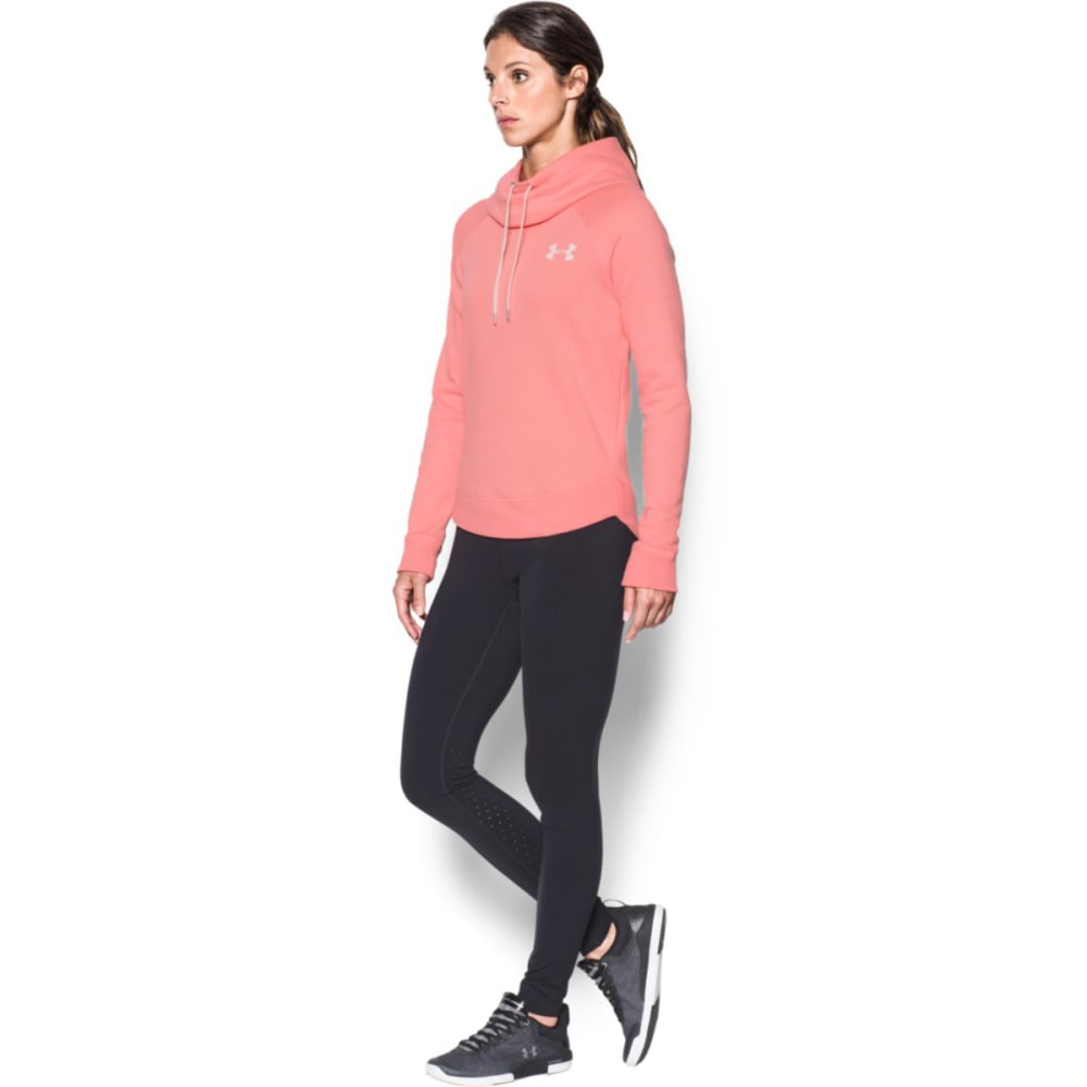 UNDER ARMOUR Women's Printed Favorite Hoodie - CAPE CORAL-981