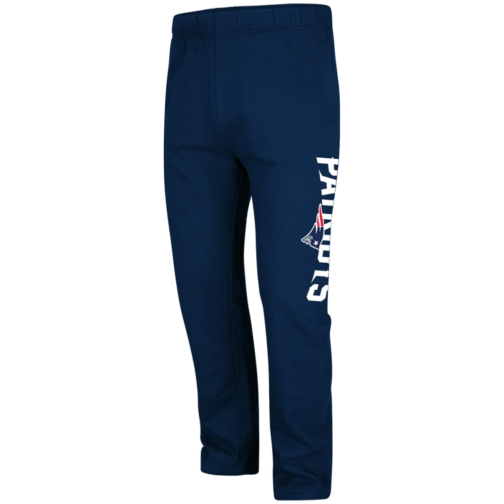 NEW ENGLAND PATRIOTS Men's Critical Victory Fleece Pants - NAVY