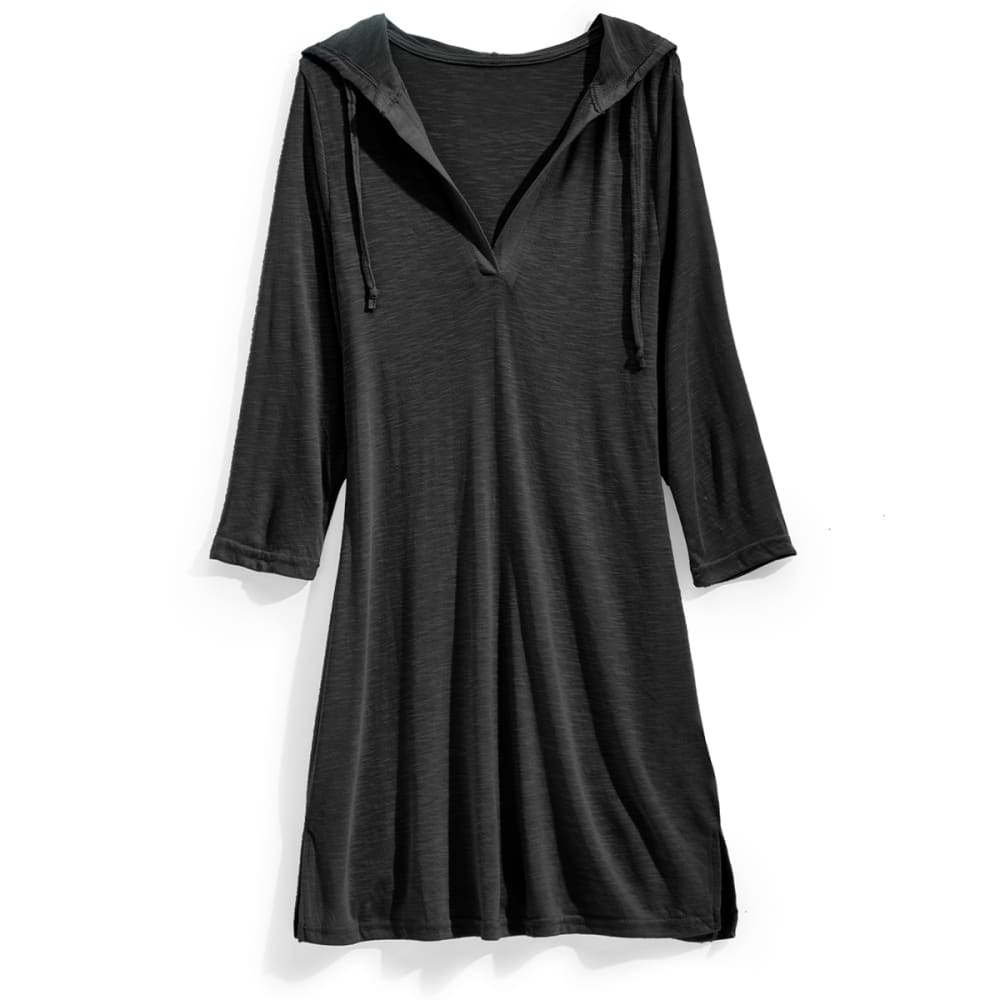 Bally Women's  3/4  Sleeve Slub Cover-Up - Black, S