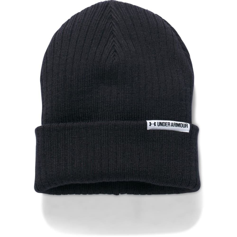 UNDER ARMOUR Women's UA Boyfriend Cuff Beanie - 001-BLACK