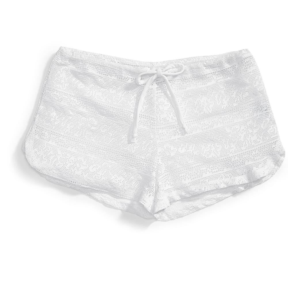MARIKA Women's Piranha Cover-Up Shorts - 010 - WHITE