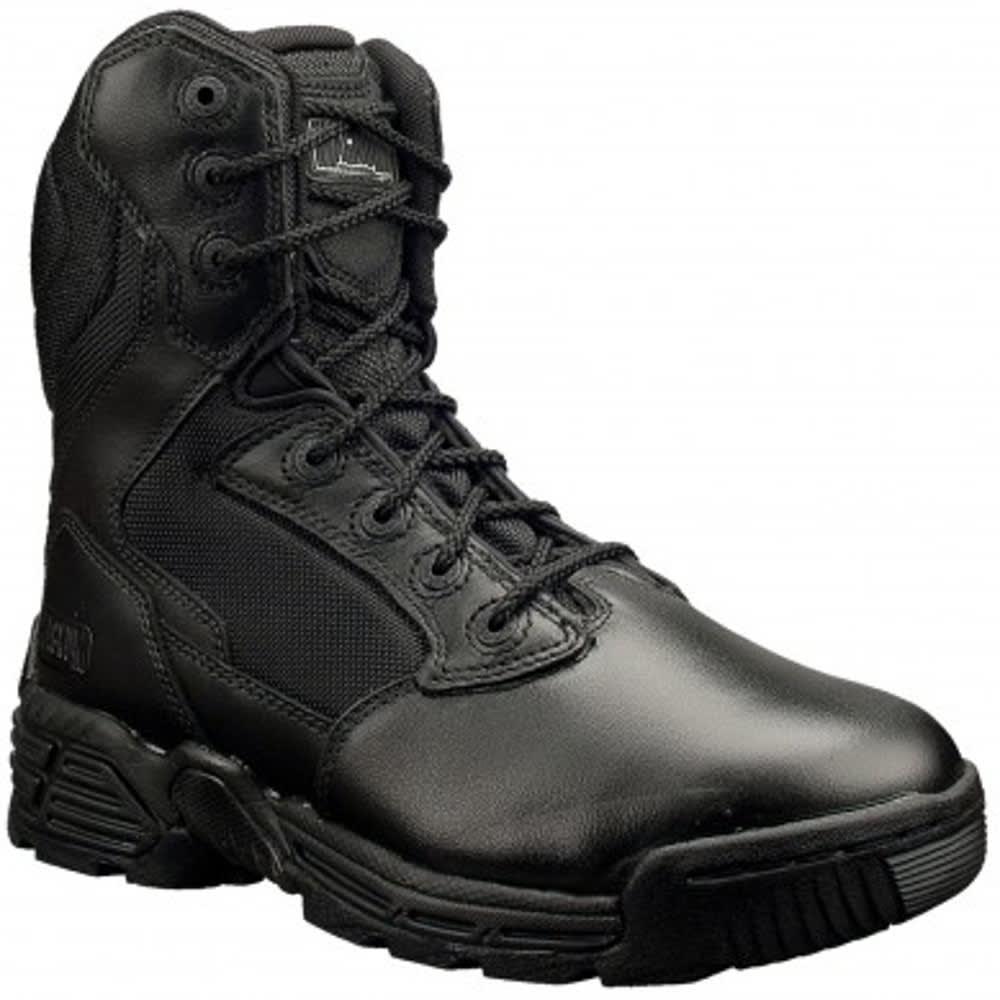MAGNUM Women's Stealth Force 8.0 Side Zip Waterproof Boots - BLACK