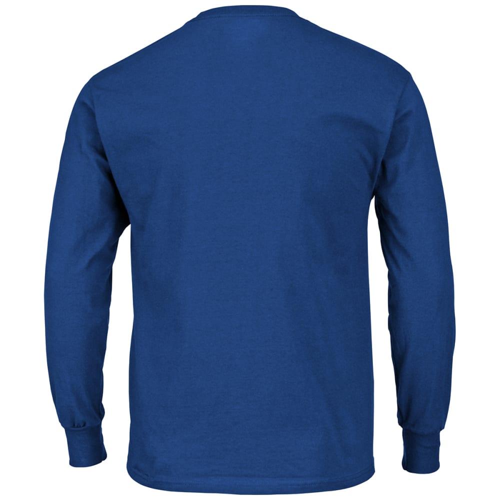 NEW YORK GIANTS Men's Critical Victory III Long-Sleeve Tee - ROYAL BLUE