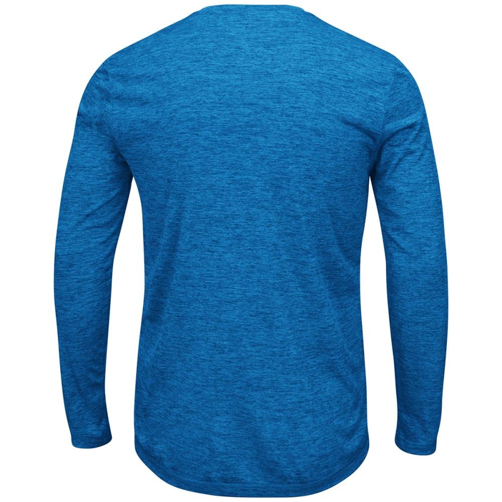 NEW YORK GIANTS Men's Fierce Intensity Long-Sleeve Tee - ROYAL BLUE
