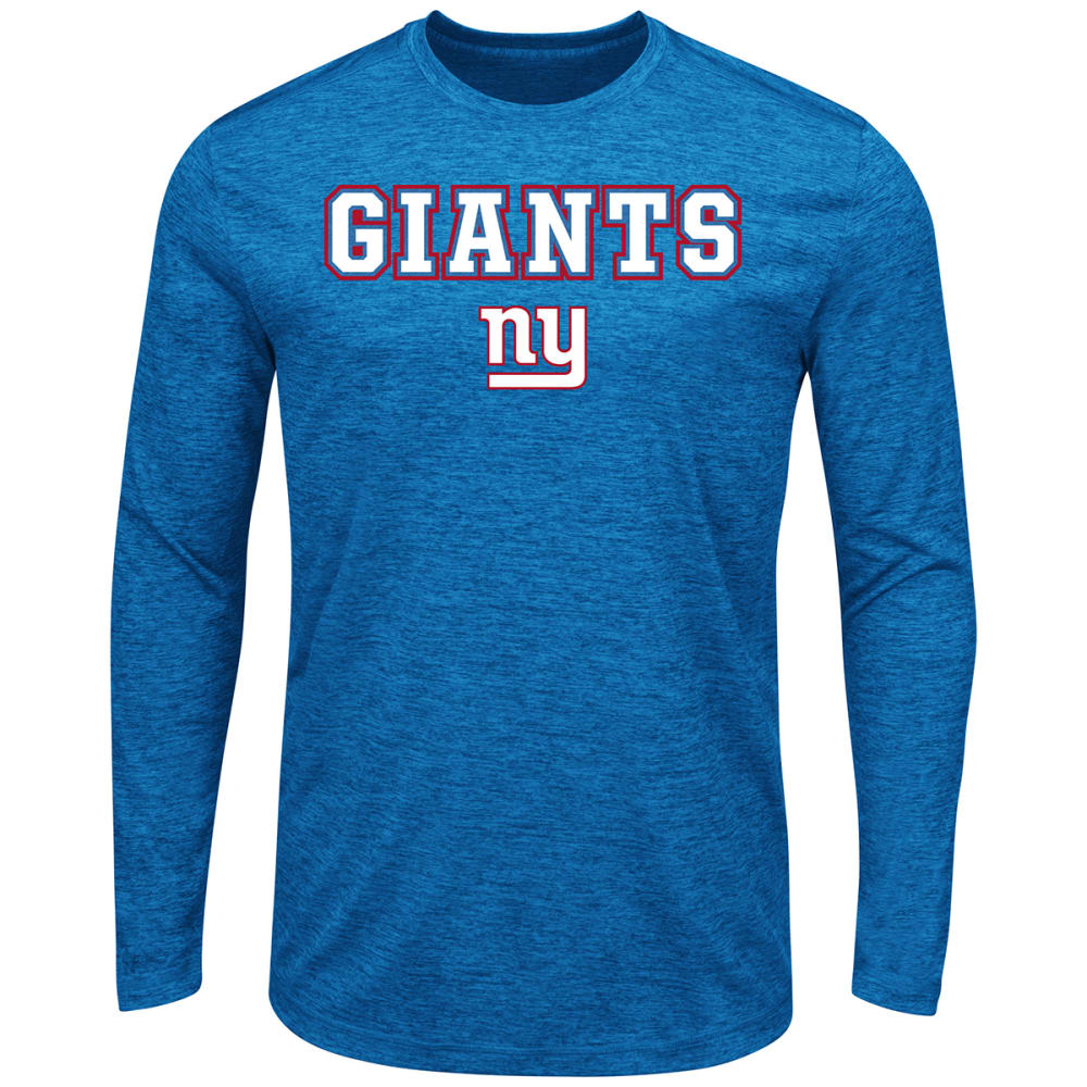 NEW YORK GIANTS Men's Fierce Intensity Long-Sleeve Tee - ROYAL BLUE