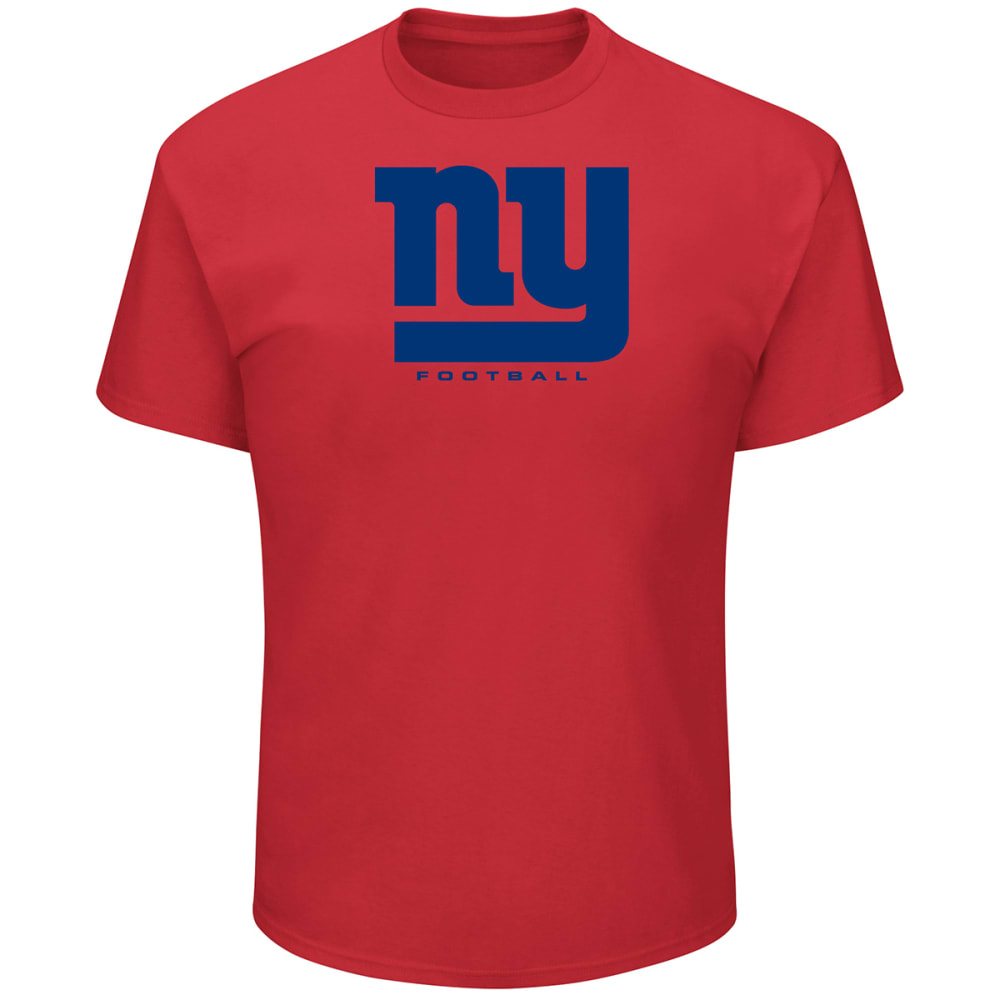 NEW YORK GIANTS Men's Critical Victory III Short-Sleeve Tee - RED