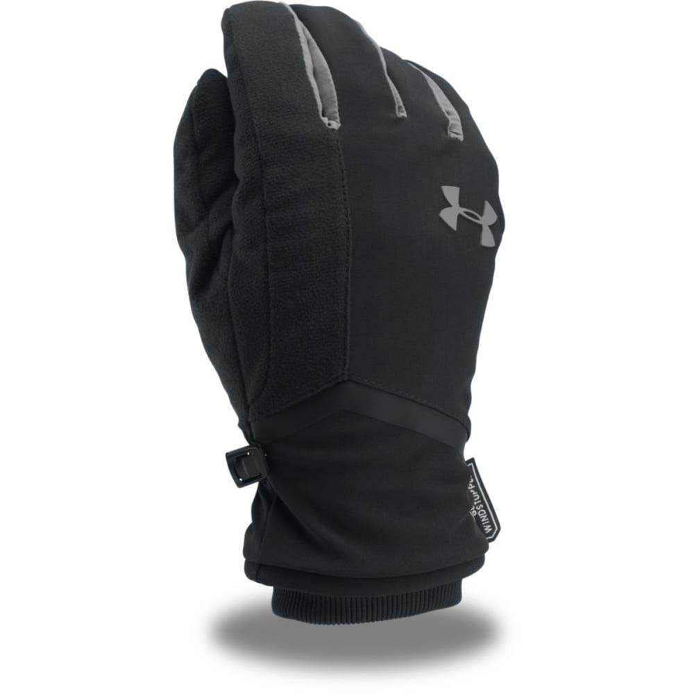 UNDER ARMOUR Men's UA Windstopper® 2.0 Gloves - 001-BLK/GRAPHITE/GRA