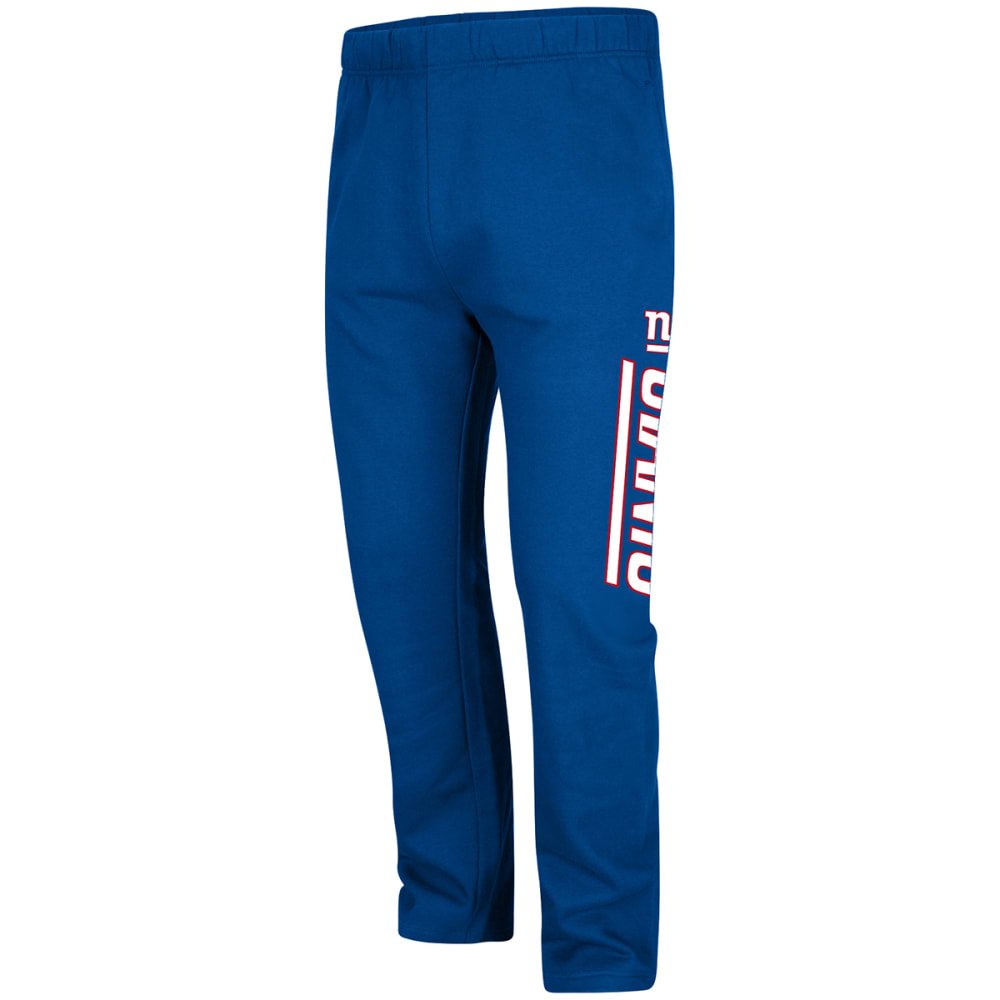 NEW YORK GIANTS Men's Critical Victory Fleece Pants - ROYAL BLUE