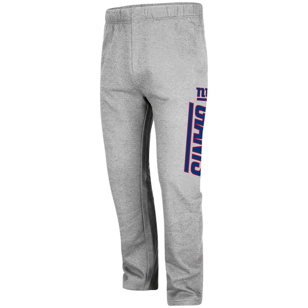 NEW YORK GIANTS Men's Critical Victory Fleece Pants - GREY