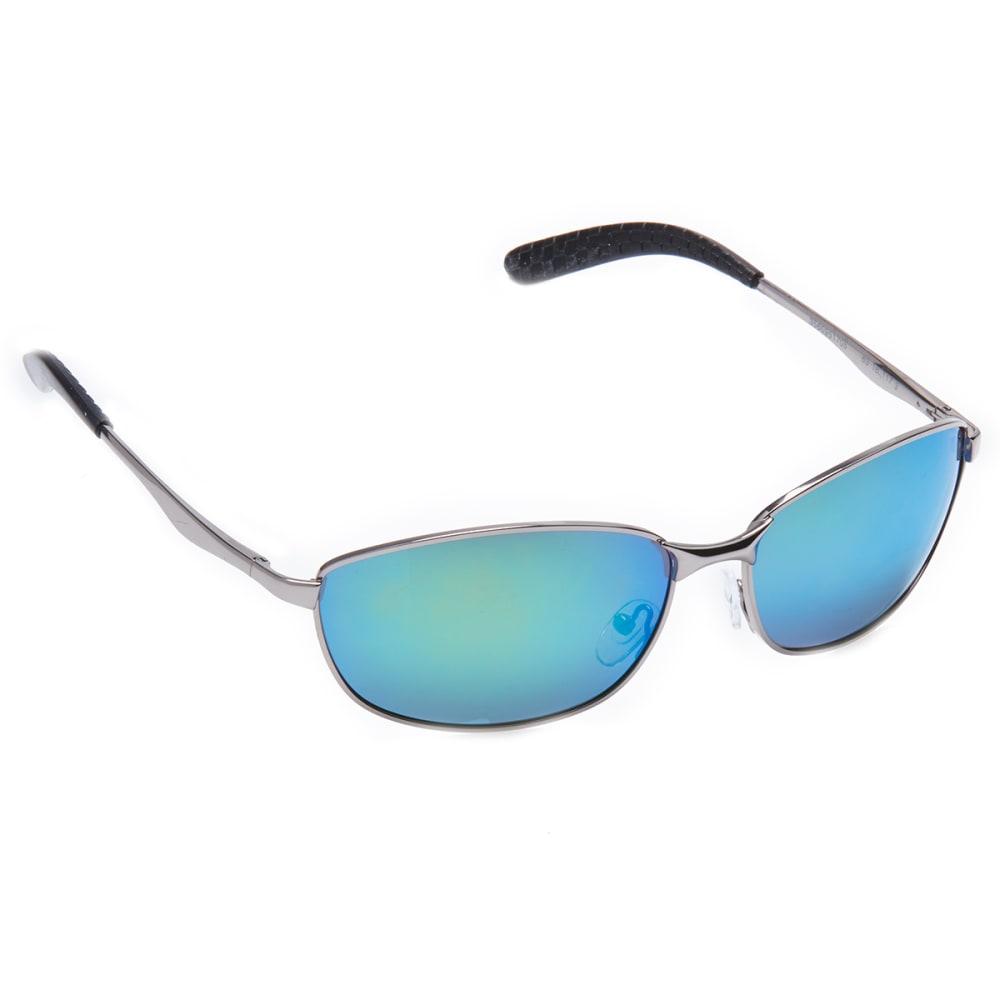 OUTLOOK EYEWEAR Braves Pilot Sunglasses - GUN/SMOKE