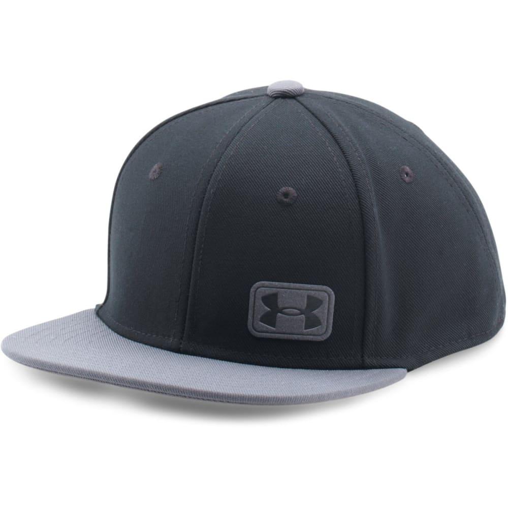 UNDER ARMOUR Boys' UA Core Snapback Cap - 001-BLACK